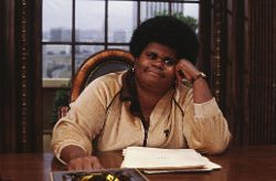 Shirley Hemphill in office